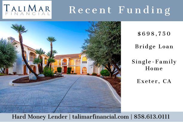 Hard Money Bridge Loan